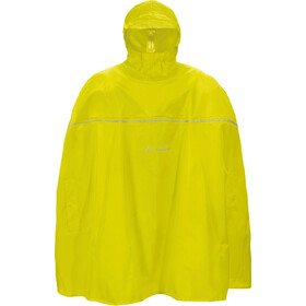 VAUDE Grody Poncho Kinderen, lemon